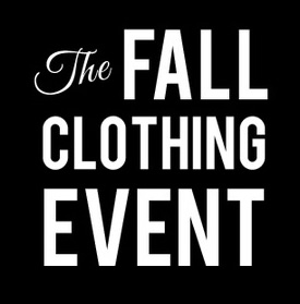 The Fall Clothing Event